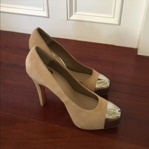Dolce Vita silver tipped heels